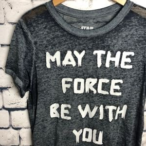 Star Wars 'May the Force Be With You' Graphic Tee